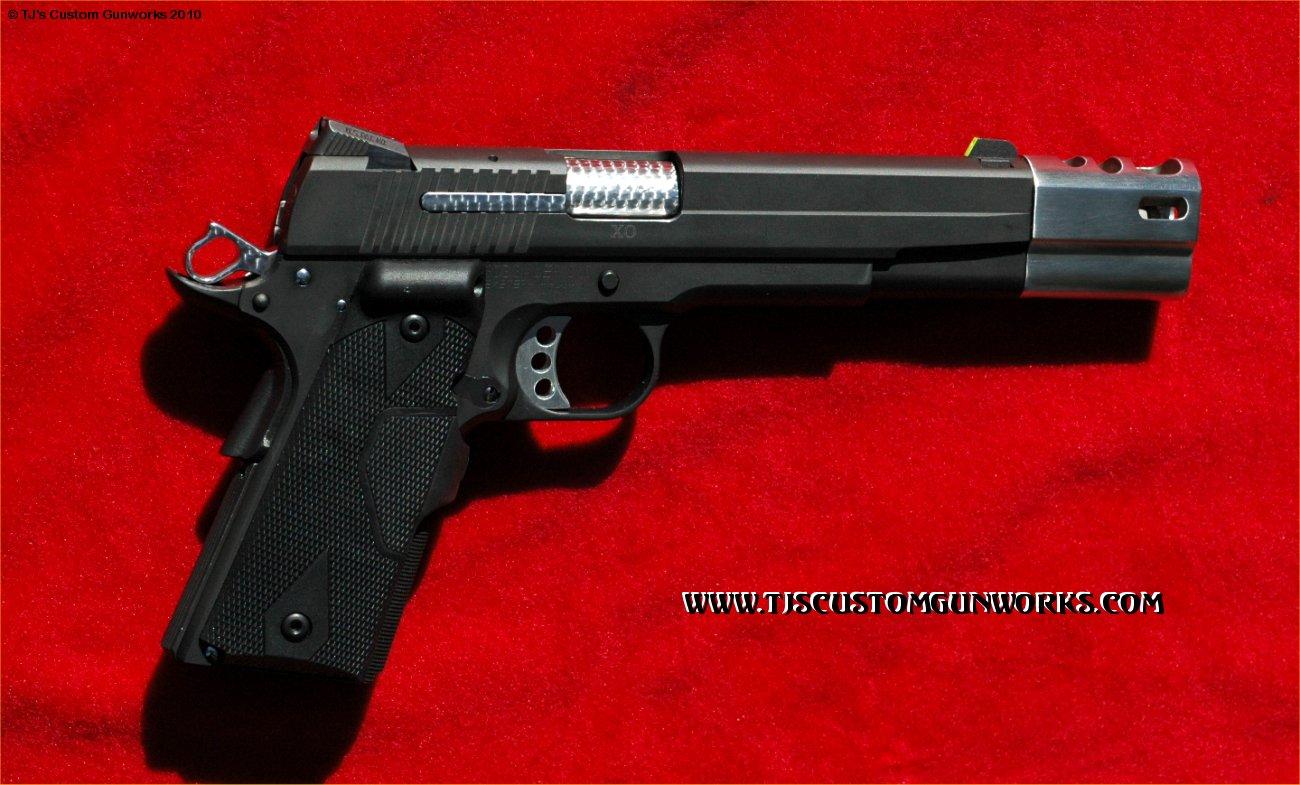 Custom Sig Sauer GSR-XO 1911 With Tri-Mag Compensator