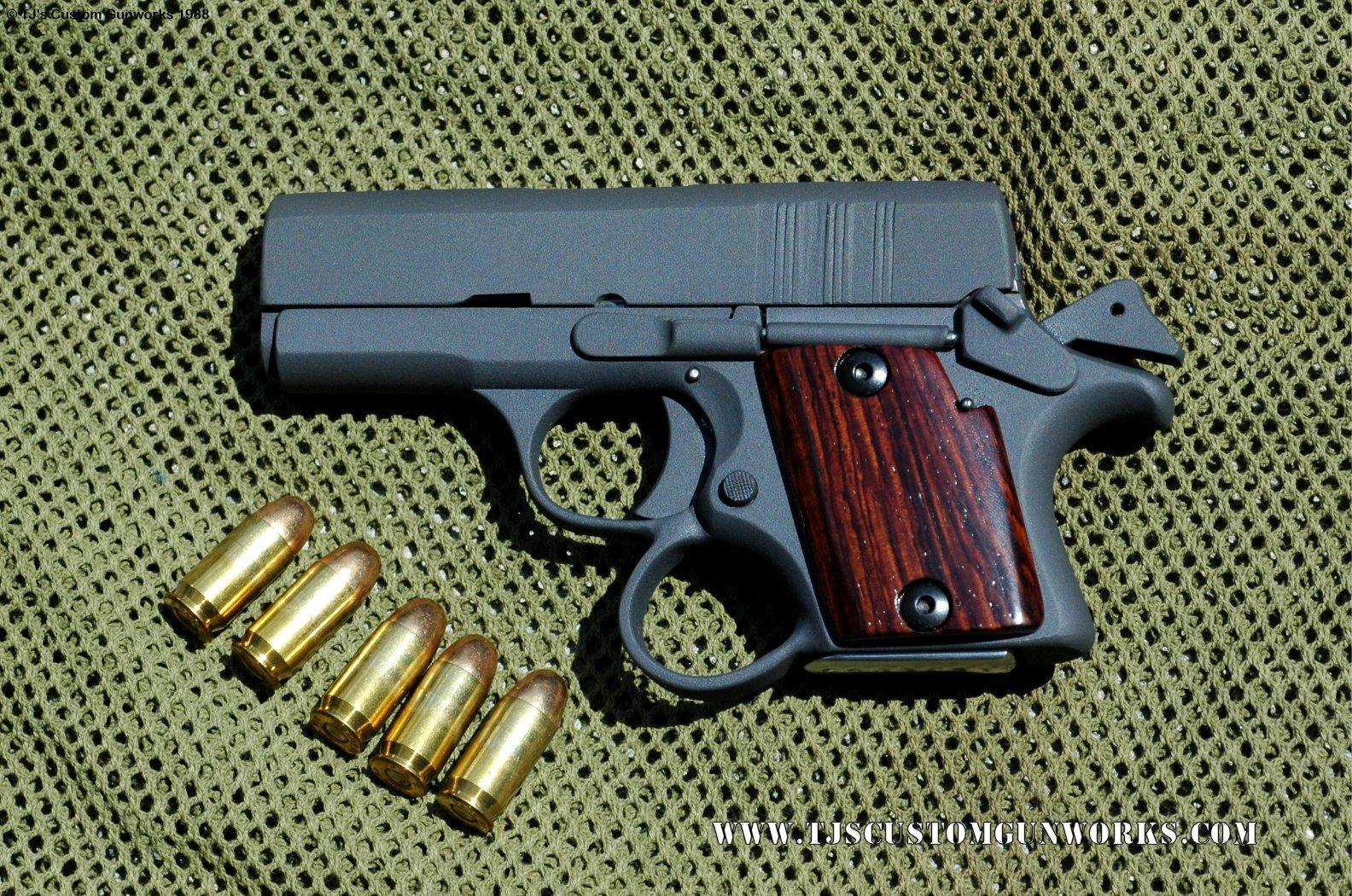 Custom Vintage TJ's Stealth 3 Prototype Ultra-Sub-Compact  45