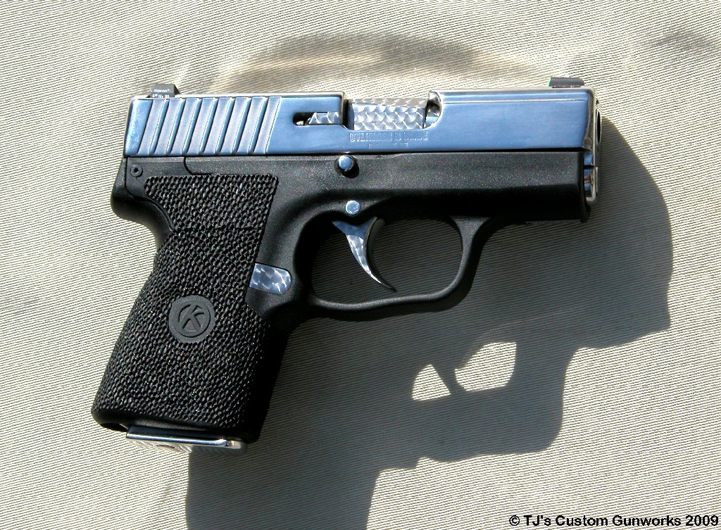 Custom High Polished Stainless Kahr PM9 9mm Ultimate!