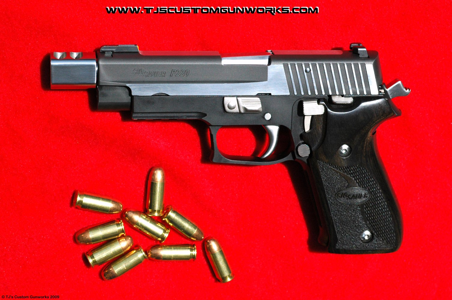 Custom Sig Sauer P220 Equinox With Tjs Sig Comp Compensator