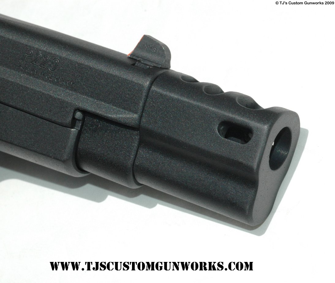 Custom Sig Sauer P220 Comp Gun Black Teflon