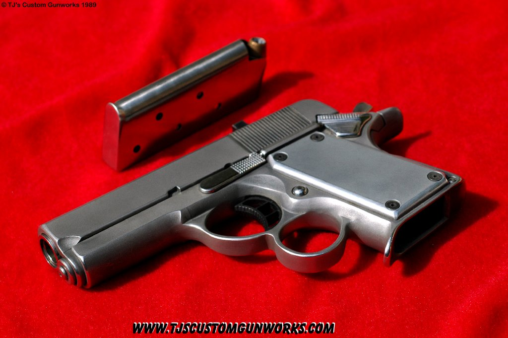 TJ 'STEALTH 1' Ultra Compact 1911  45 ACP As Seen On Mr  & Mrs